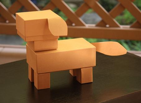 お家でワークキット!箱の犬を作ろう