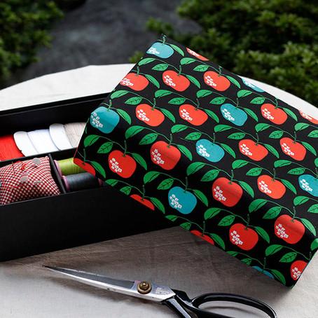 リンゴの裁縫箱