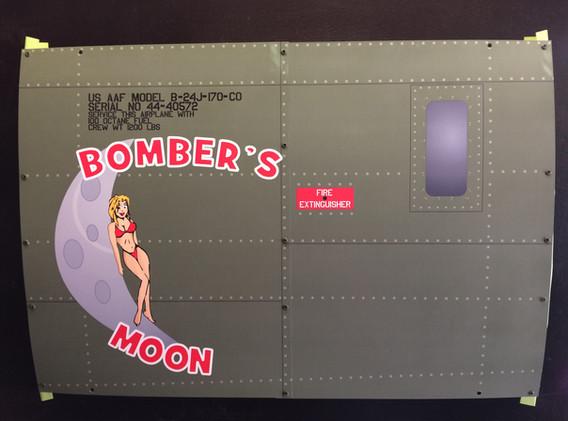 B-24 Bomber's Moon 16x24