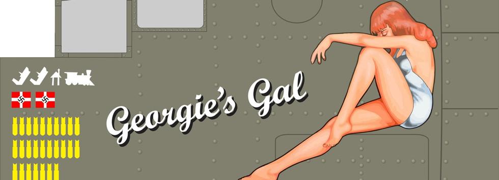 B-25 Georgie's Gal