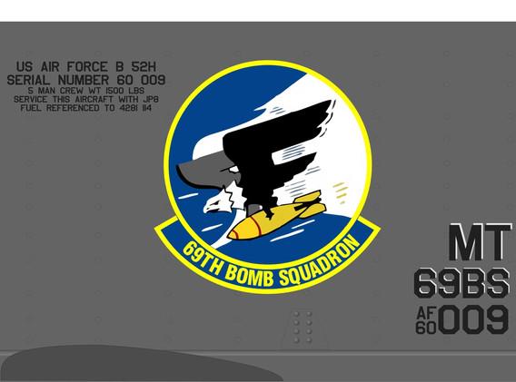 B-52 panel 69BS