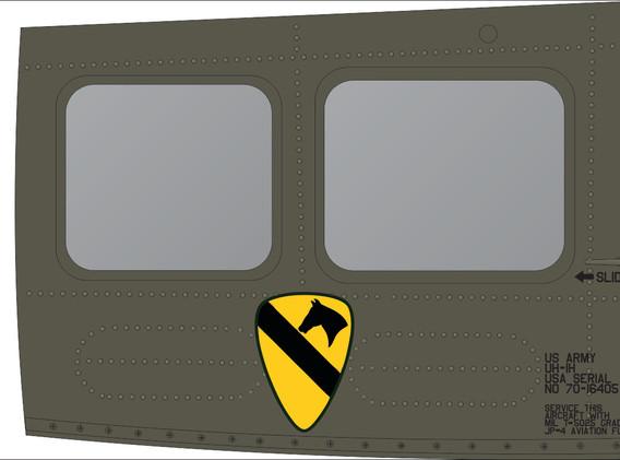 UH-1H 1 Cav