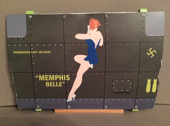 Memphis Belle Distressed