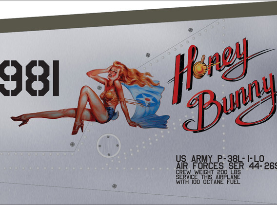 p-38 Honey Bunny
