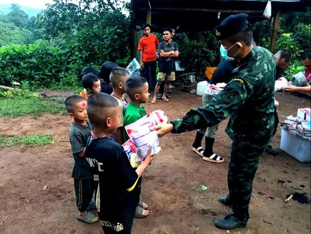 Sino-Pacific Trading (Thailand) Contributed 14,612 meals to Remote Communities in Thailand