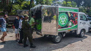 SOS Bali Providing Support for Fire Victims