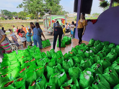 We Distributed Survival Bags to The Flood Victims in The South of Thailand