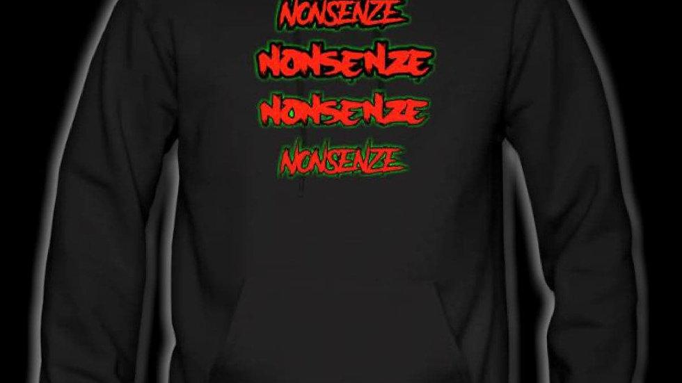 Nonsenze Hoodie Black/Red