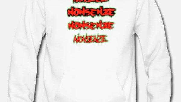 Nonsenze Hoodie White/Red