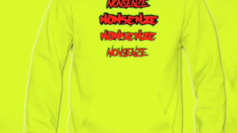 Nonsenze Hoodie Neon Yellow