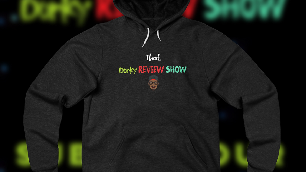 That Dorky Review Show Unisex Sponge Fleece Pullover Hoodie