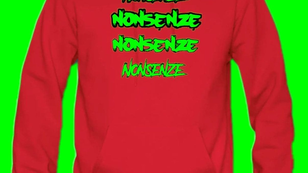 Nonsenze Hoodie Red