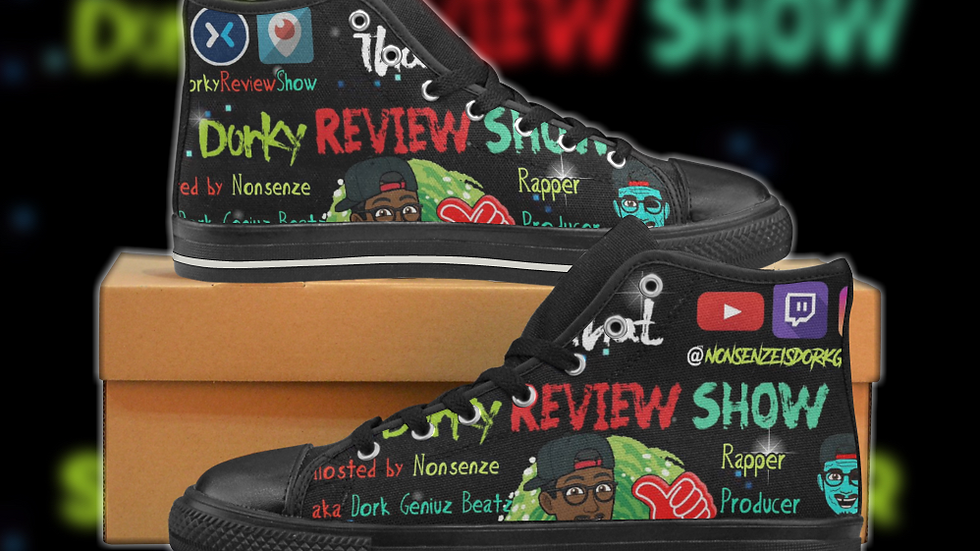 That Dorky Review Show (Special Edition) Men's High-top Sneakers