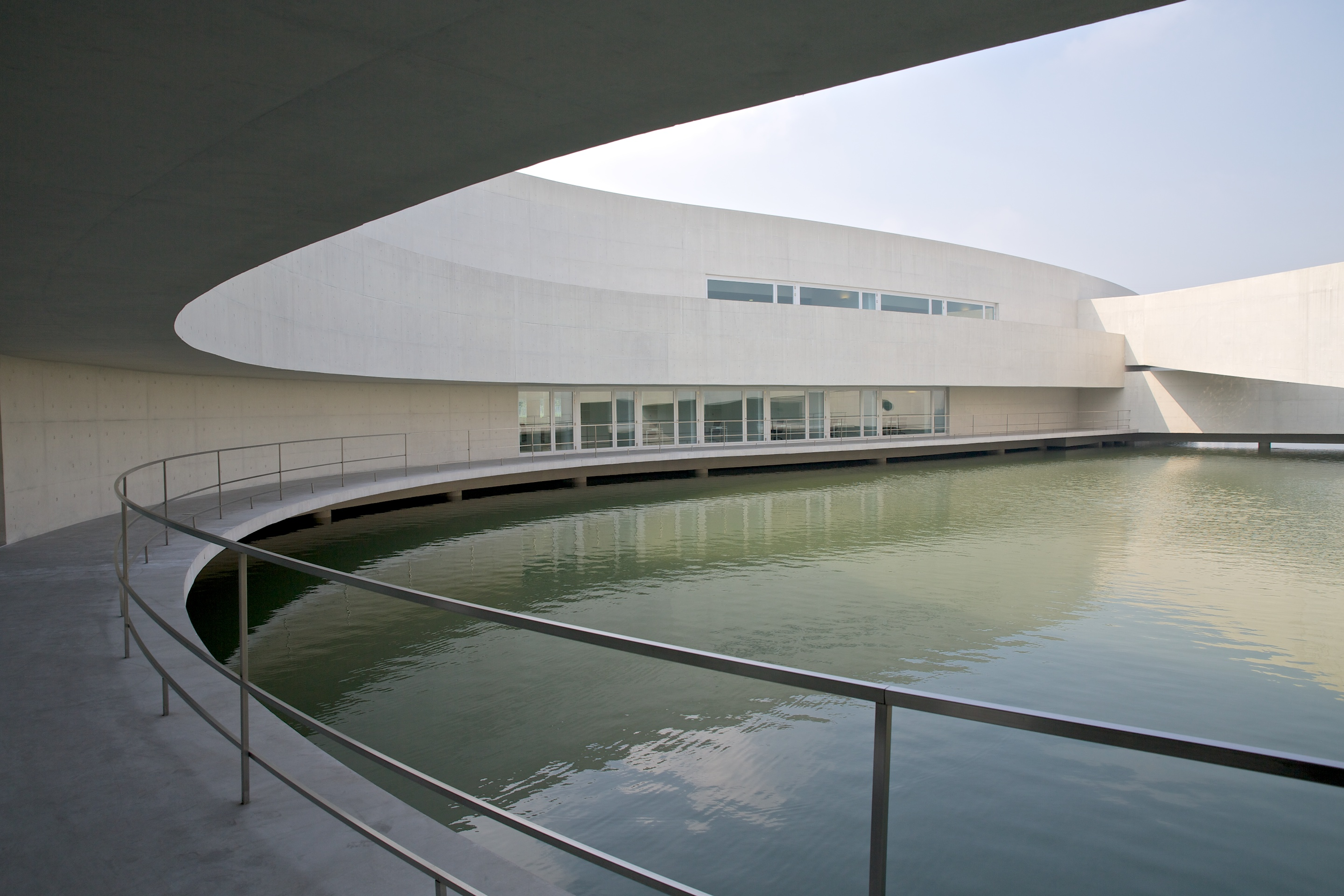 The building on the water