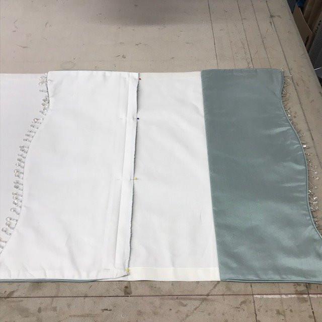 Applying shade layers to shade backing