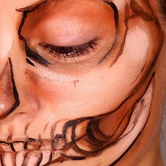 Skeleton skull makeup ohio