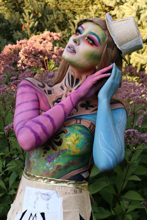 Alice in Wonderland Makeup FACE Awards 2019 Top 5