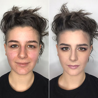 Before and after makeup Ohio