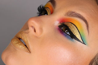 Colorful makeup artist ohio cleveland
