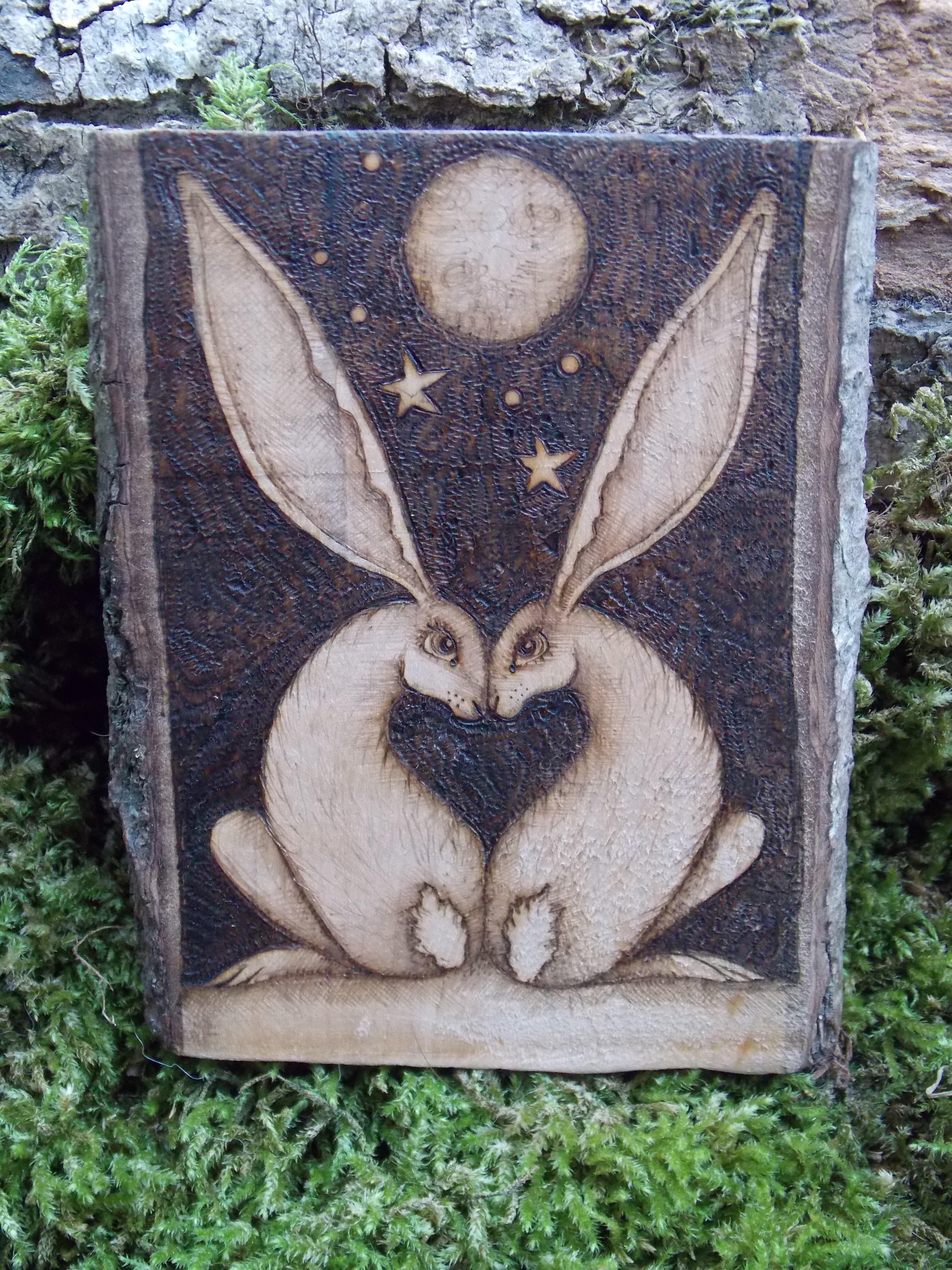 love heart hares