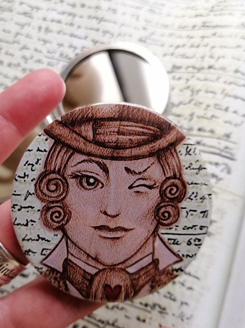 Gentleman Jack Pocket Mirror