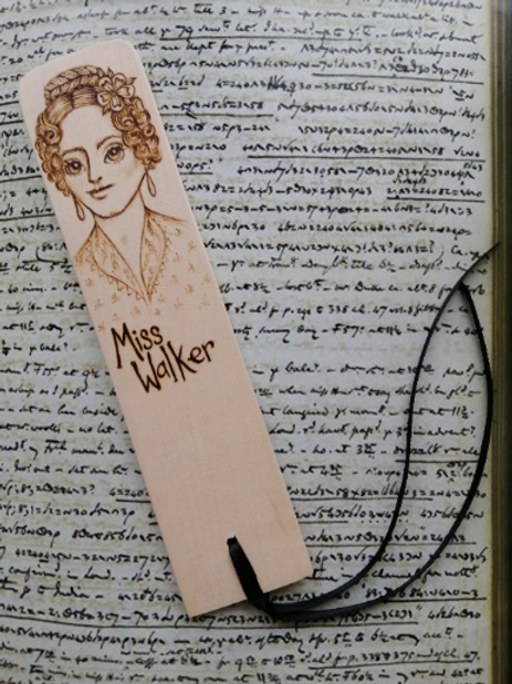 Ann Walker..... Anne Lister...Gentleman Jack...handmade bookmark