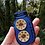 Thumbnail: 2 Wooden Starburst Fern Buttons..