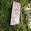Thumbnail: Hare and Stars Original Design Fridge Magnet Wood Burning Pyrography