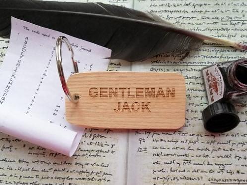 Gentleman Jack Keyring