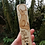 """Thumbnail: Wooden Fox Bookmark with """"You fell asleep here"""" Pyrography Woodburning"""