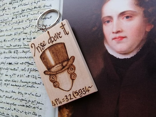 I Rise Above It....Keyring