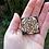 Thumbnail: Tudor Stylised Brooch Pin Hand Burnt Pyrography