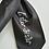 Thumbnail: Anne Lister Gentleman Jack Lister Sister Black Dupion (Raw Silk) Pre-Tied Cravat