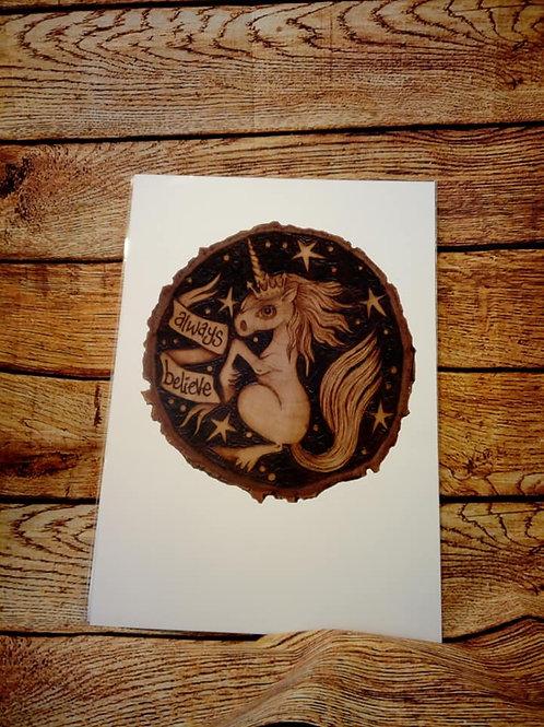 Unicorn A3 Print
