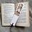 Thumbnail: Lister Sister...Anne Lister...handmade bookmark