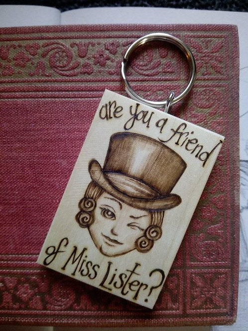 Are you a friend of Miss Lister Keyring