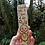 "Thumbnail: Wooden Moon and Stars Bookmark with the words ""I read all night & I sleep all da"