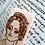 Thumbnail: Ann Walker..... Anne Lister...Gentleman Jack...handmade bookmark