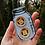 Thumbnail: 2 Wooden Fern Leaf Buttons..