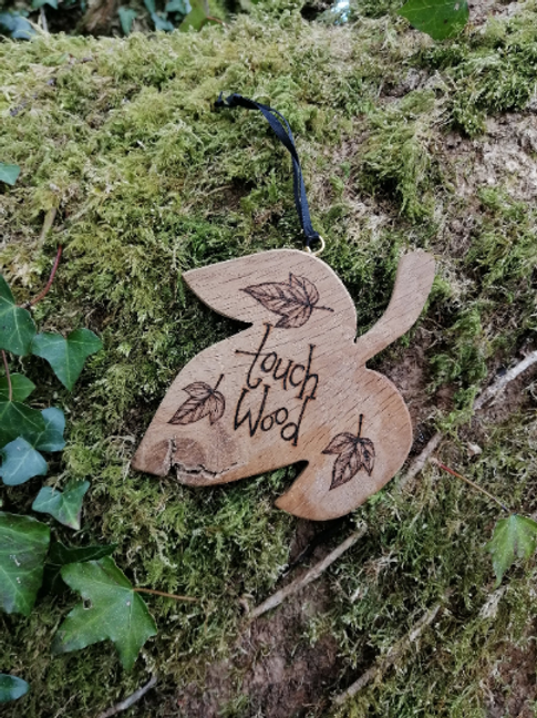 Wooden Leaf Touch Wood Pyrography Wood Burning