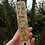 "Thumbnail: Wooden Hare Bookmark with ""Read by the light of the moon"" Pyrography Woodburning"