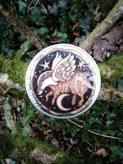 Flying Badger Tin