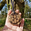 Thumbnail: Butterfly Necklace on Alder Slice of Wood Pyrography Wood Burning