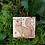 Thumbnail: Fox brooch pin hand burnt pyrography