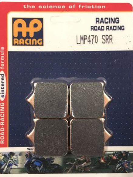 Pastilha de freio RACING Sinterizada AP racing LMP 470 SRR