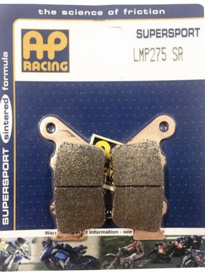 Pastilha de freio traseira Ap Racing sinterizada GG LMP 275 SR