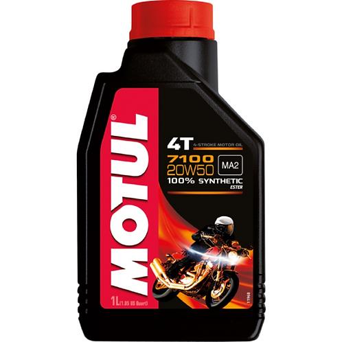 ÓLEO MOTUL 7100 4T 20W50 1L
