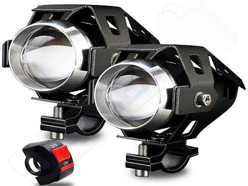 FAROL AUXILIAR LED 125W 6000K C/ INTERRUPTOR