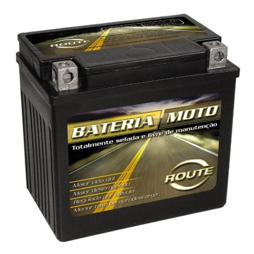 BATERIA ROUTE YTX14LABS SELADA BMW G650GS 09-16