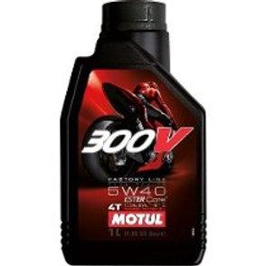 ÓLEO MOTUL 4T 300V 100% SINTÉTICO 5W40